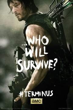 """The Walking Dead Daryl Poster - """"Shoot Me Again"""""""