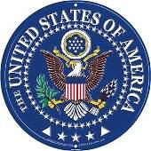 U.S.A. METAL SIGN