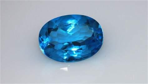 5.76 CTW BLUE TOPAZ OVAL 6X8MM (4)
