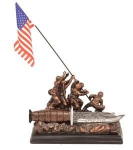 Iwo Jima Commemorative Dagger w/ Stand