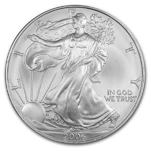 2006 1 oz Silver American Eagle BU