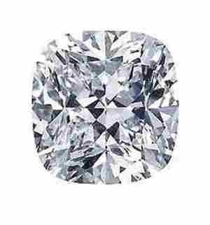 GIA CERT 0.25 CTW CUSHION DIAMOND H/VVS1