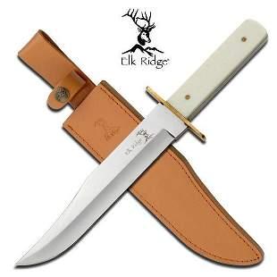 """ELK RIDGE 14.2"""" FIXED BLADE BOWIE KNIFE"""