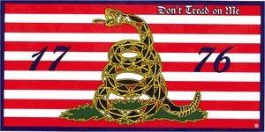 "Gadsen ""Don't Tread on Me"" 1776 Bumper Sticker"