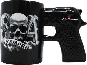 GUN HANDLE SOA COFFEE MUG