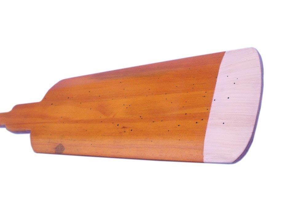 Nautical Wooden Hamilton Squared Rowing Oar w/ Hooks 36