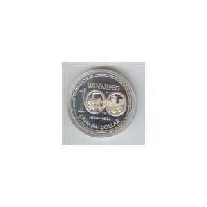 Canada 1974 silver dollar Winnipeg