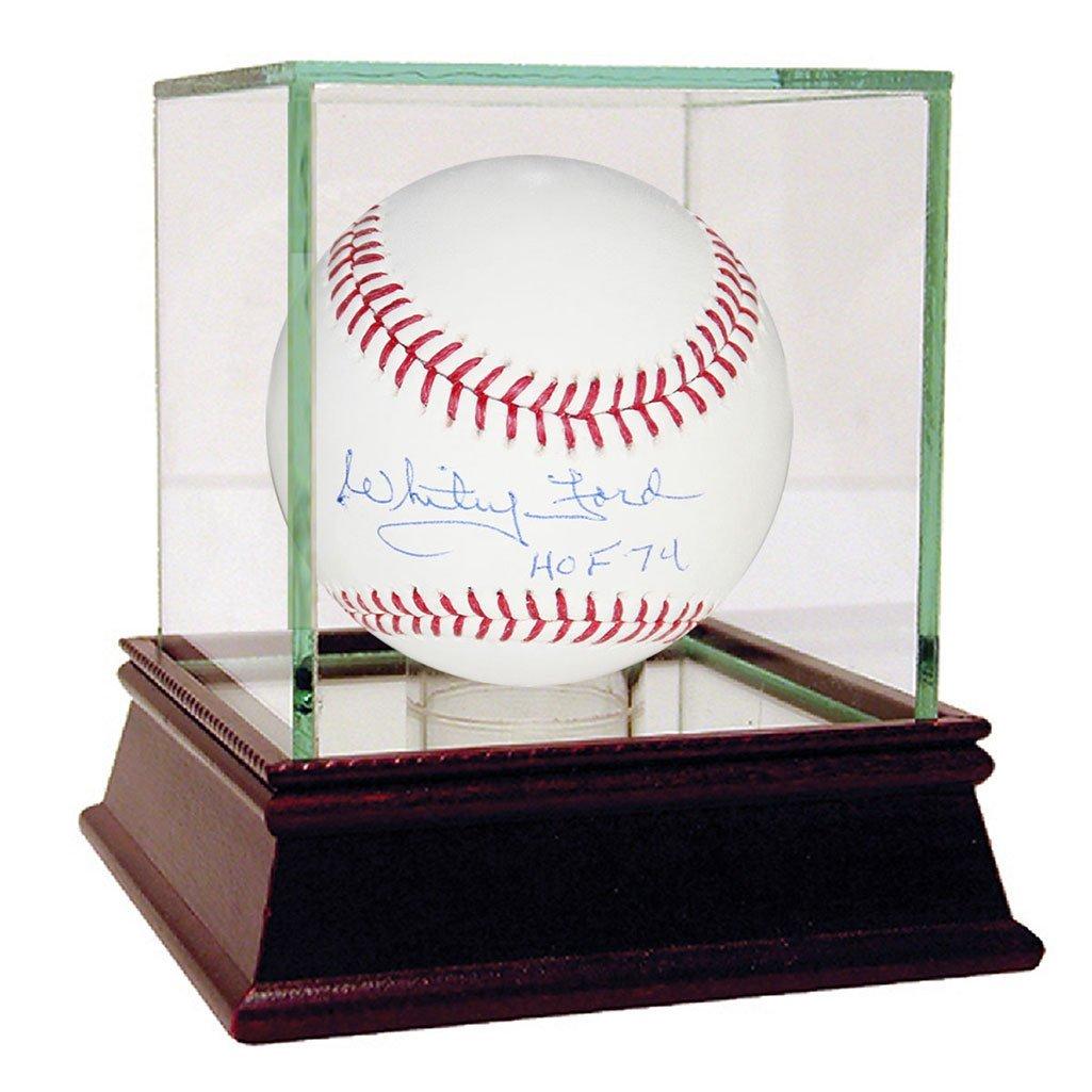 WHITEY FORD NEW YORK YANKEES AUTOGRAPHED MLB BASEBALL I