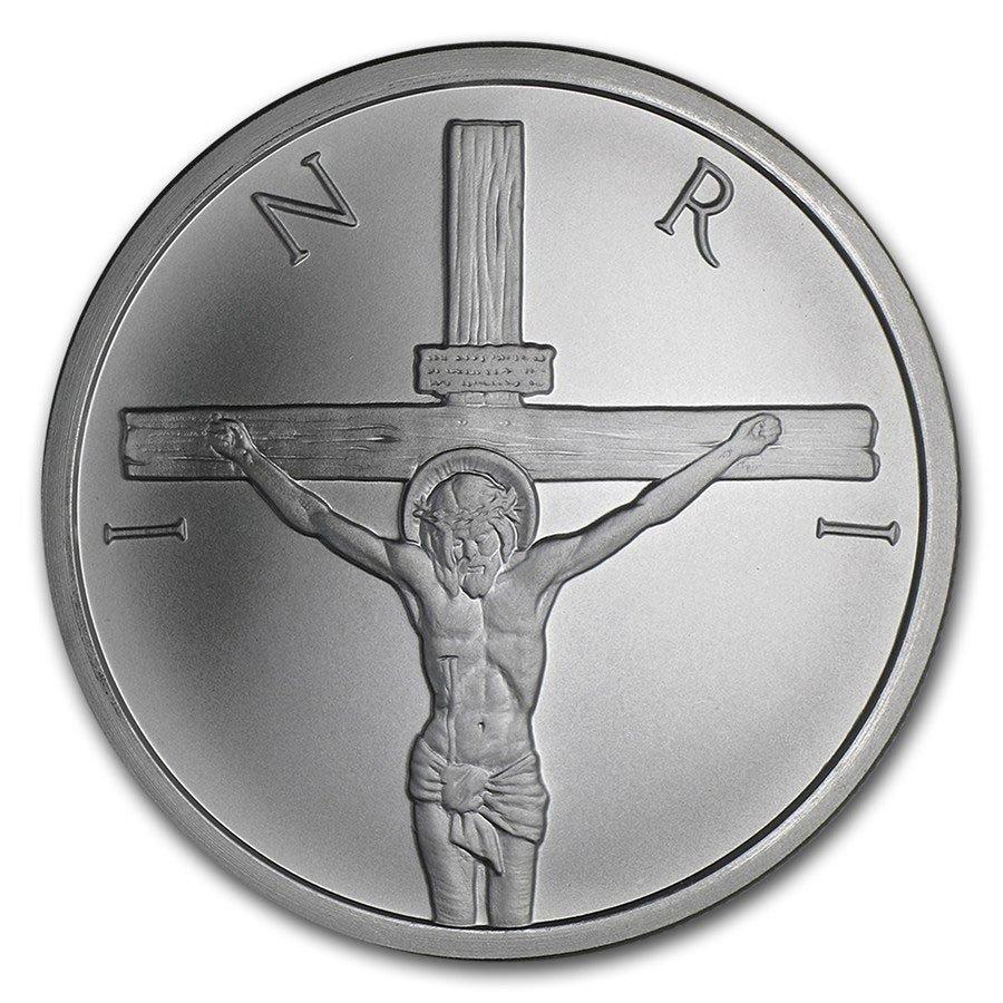 2015 2 oz Silver Round - Jesus Shekel