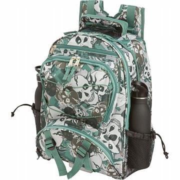 Extreme Pak Skull Camo Backpack