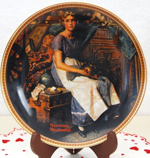 """Vintage Norman Rockwell """"Rediscovered Women Series"""" Pla"""