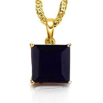 GENUINE 0.50 CTW BLACK SAPPHIRE SOLID 10K YELLOW GOLD P