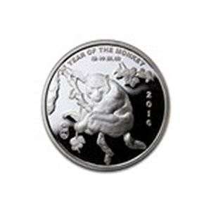 1/2 oz Silver Round - (2016 Year of the Monkey)