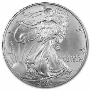2003 1 oz Silver American Eagle BU