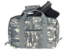 DIGITAL CAMOUFLAGE PISTOL CARRYING CASE