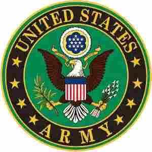 U.S. ARMY METAL SIGN