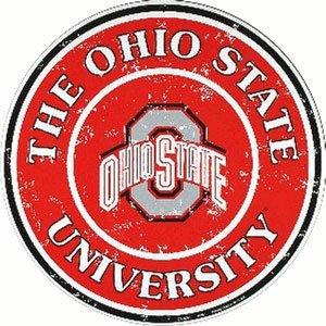 OHIO STATE METAL SIGN