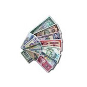 50 World Bank Notes - (From 50 Different Countries) Unc