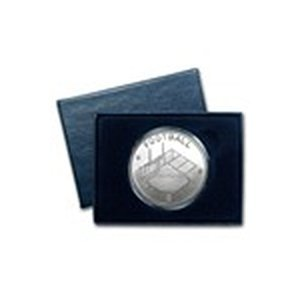 1 oz Silver Round - Football (w/Gift Box & Capsule)