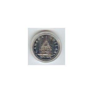 Canada 1976 silver dollar Library