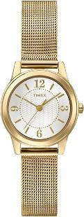 TIMEX LADIES GOLD COLORED WRIST WATCH