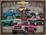Chevy Truck Tribute METAL SIGN
