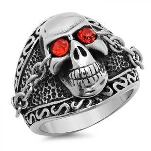 Skull Design Ring