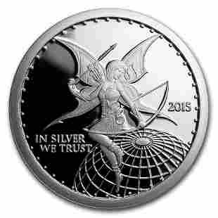 1 oz Silver Round - Silverbug Fairy Archer