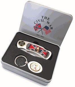 Stonewall Jackson Knife W/keychain