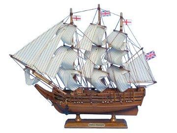 """Hand Made Darwin's HMS Beagle 14"""""""