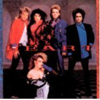Heart vinyl record - Self Titled - vintage album in Exc