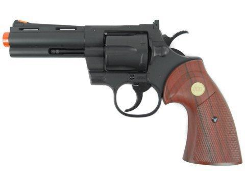TSD/UHC 138 Gas Revolver 4 Inch barrel Green Gas Power