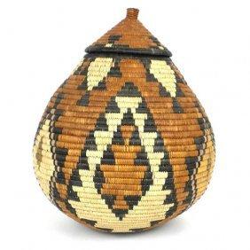 Zulu Wedding Basket -os-07 - Ilala Weavers
