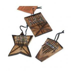 Set Of Three Small Finger Piano Kalimba Ornaments - Jed