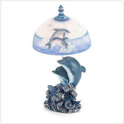 Dolphin Lamp