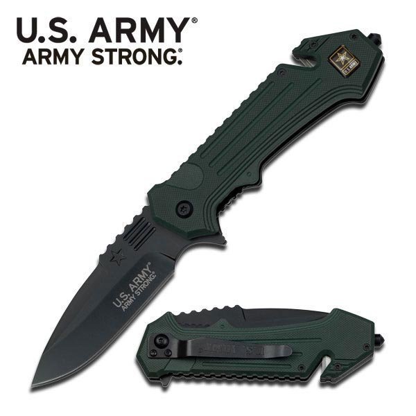 OFFICIALLY LICENSED U.S. ARMY SPRING ASSISTED TACTICAL