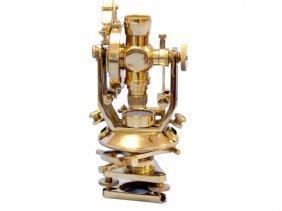 "Collectible 10"" Nautical Brass Theodolite"