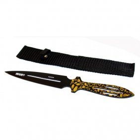 """9"""" Camouflaged Throwing Knife"""