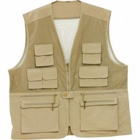 "Classic Safari"" Lightweight Fishing/sporting Vest"