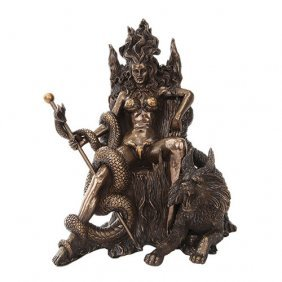 Hel Cold Cast Bronze Statue