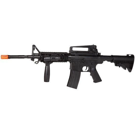 M16A4 AIRSOFT SPRING POWERED ASSAULT RIFLE FPS 320