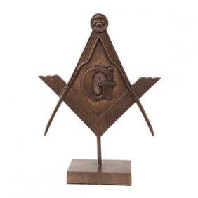 Masonic Statue