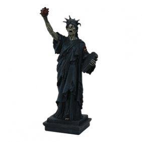 Zombie Statue Of Liberty