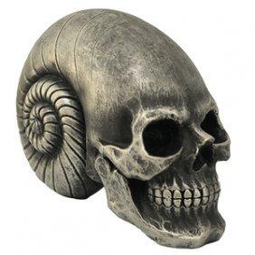 Alien Skull Figurine