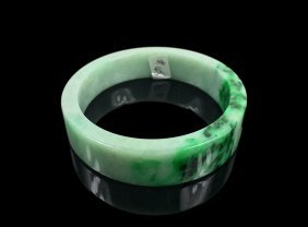 Natural Untreated Jadeite Jade Bangle