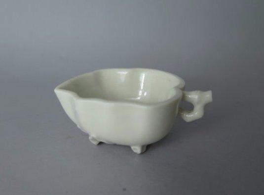 Chinese Blanc De Dehua Libation Cup, Qing Dyn.