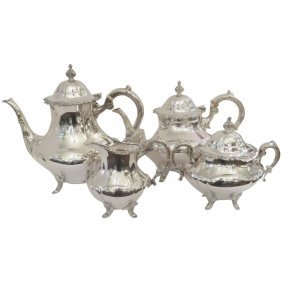 Sterling Silver Reed And Barton Tea Set