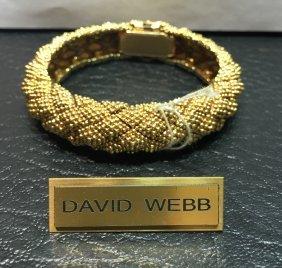 Vintage David Webb 18k Bangles