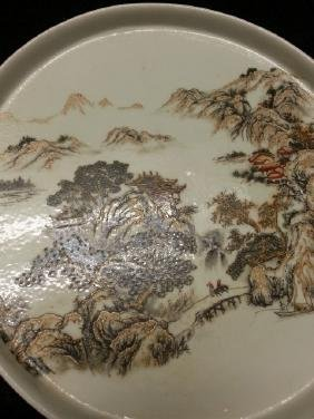 Old Chinese  porcelain Dish