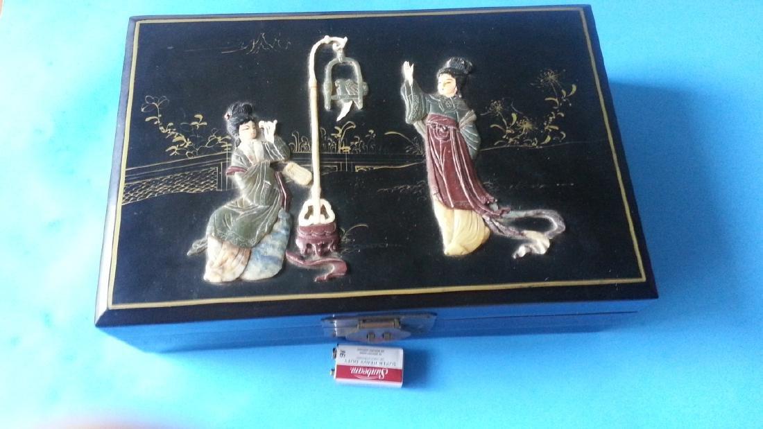 antique Lacquer Box
